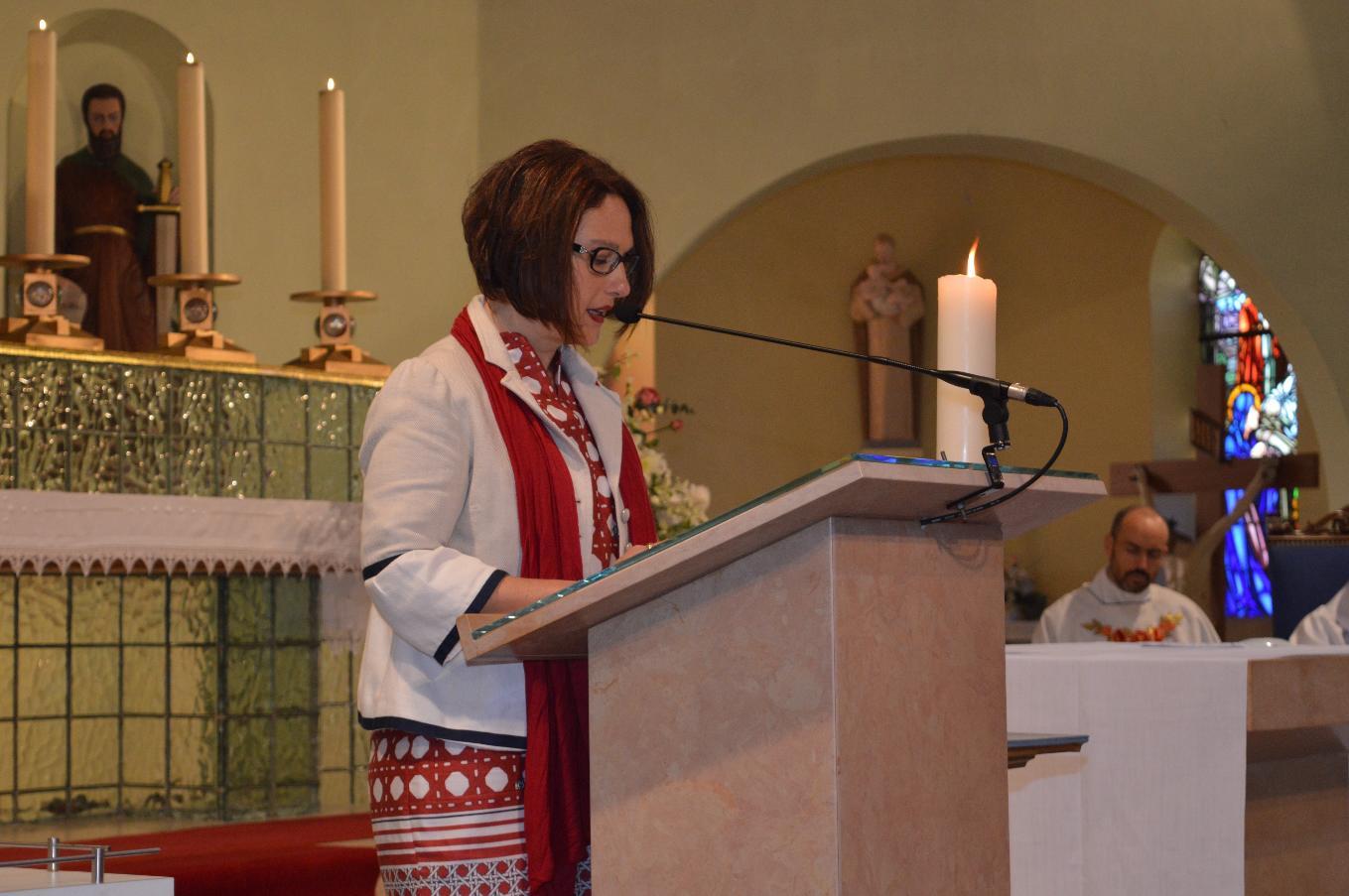 Maria-Jesus, mère de Maialen pour la 2e lecture