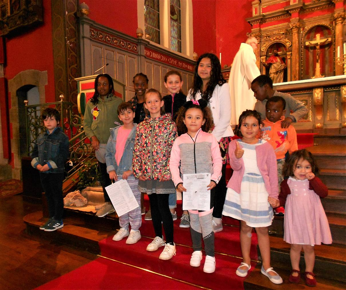 Dimanche 7 avril – dernier dimanche du temps du Carême – Messe des Familles