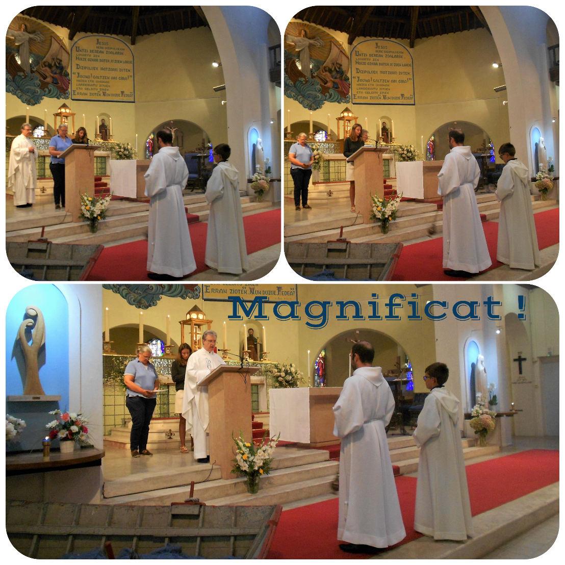 Évangile de la Visitation proclamé à trois voix