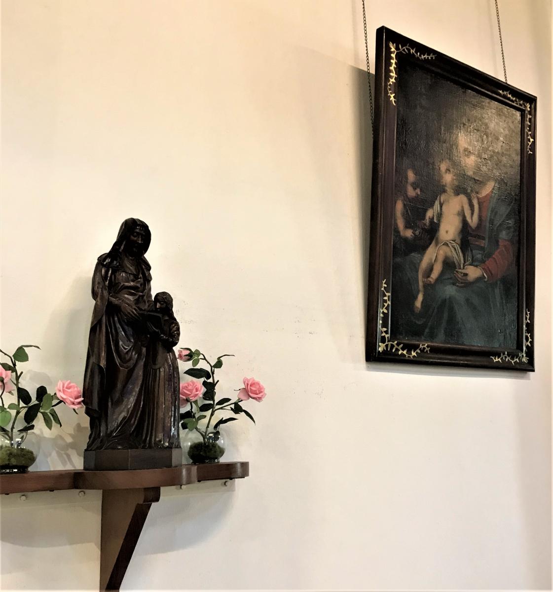 Sainte Anne et Marie - Marie et Jésus.JPG