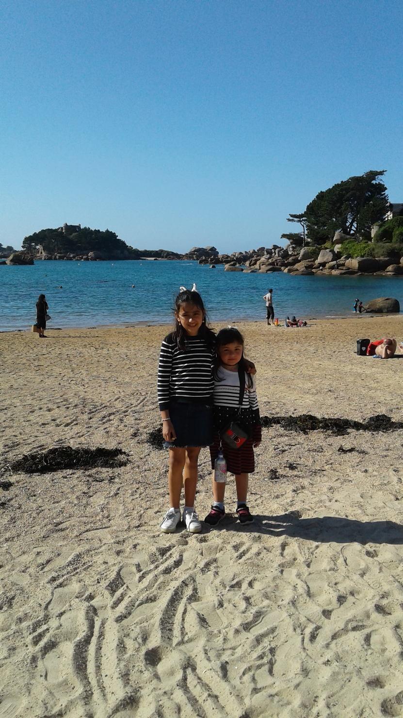 Jolie plage bretonne