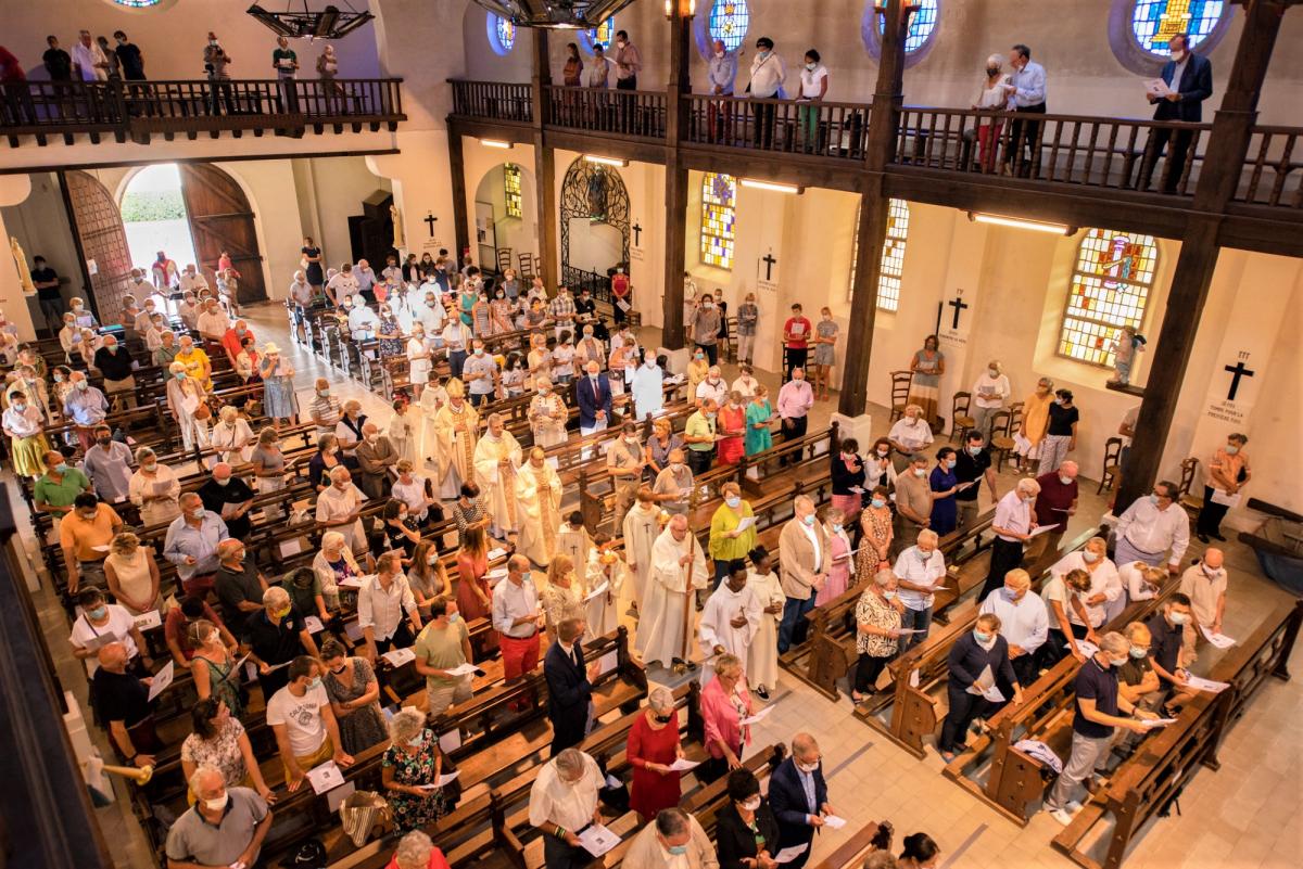 23 Août 2020 -Messe de bénédiction du nouvel orgue de l'église Sainte Anne