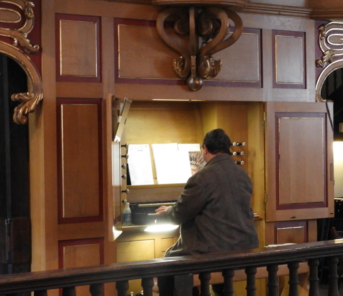 Orgue et organiste