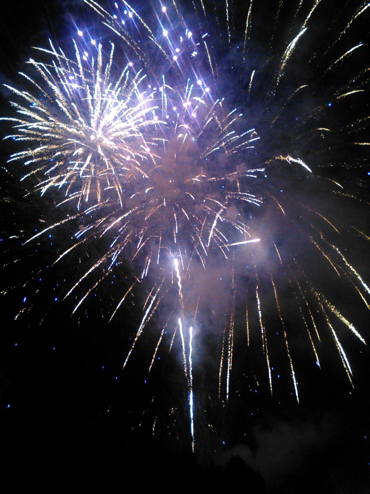 Plein d'étoiles dans le ciel pour la fête de saint Jacques, c'est beau !