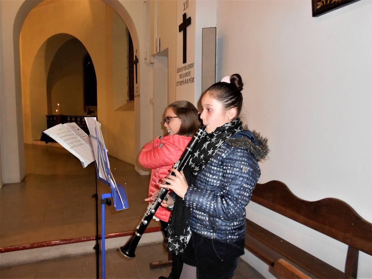 Méditation musicale avec Elena et Chloé