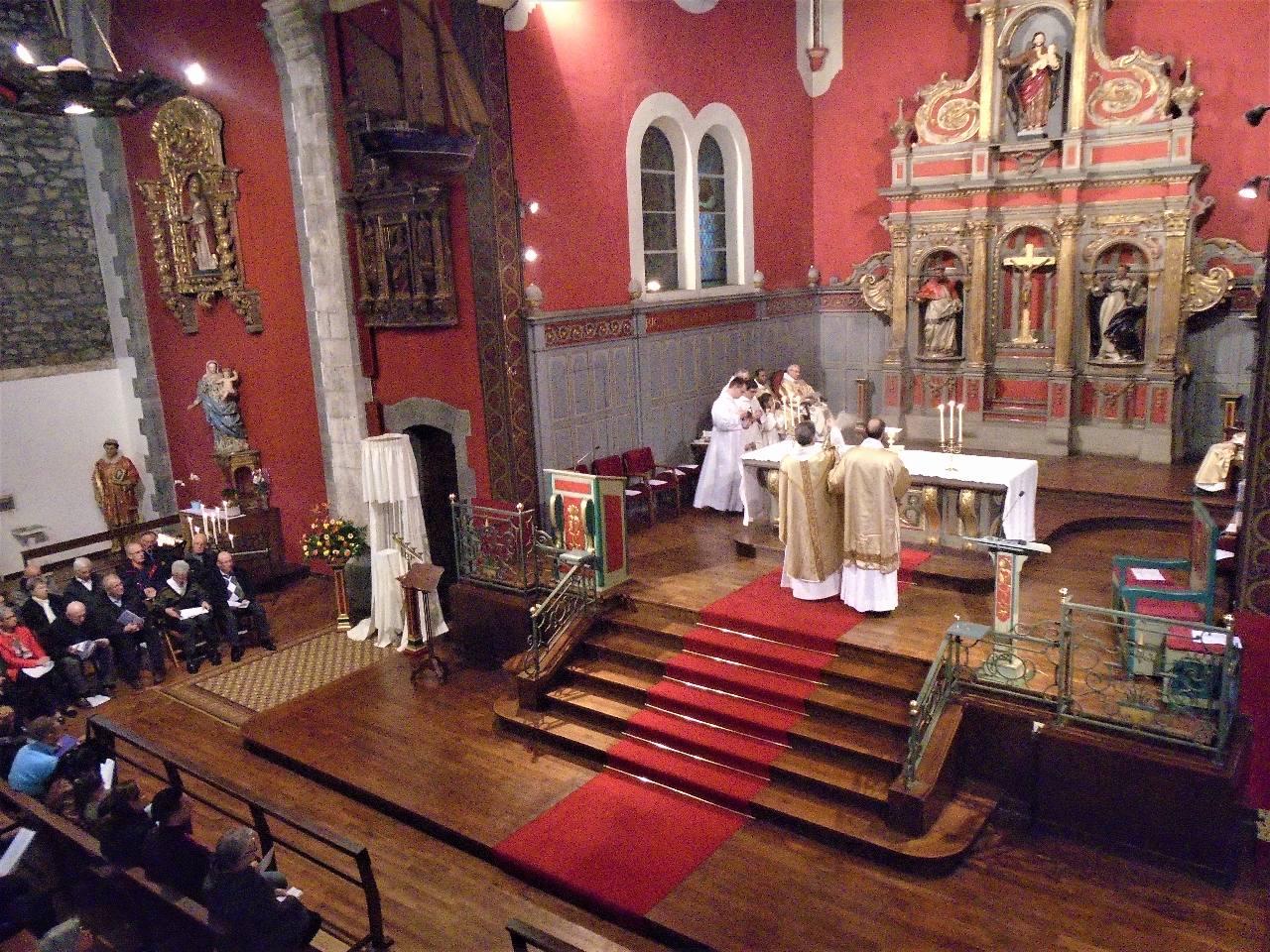 Sanctification de l'autel