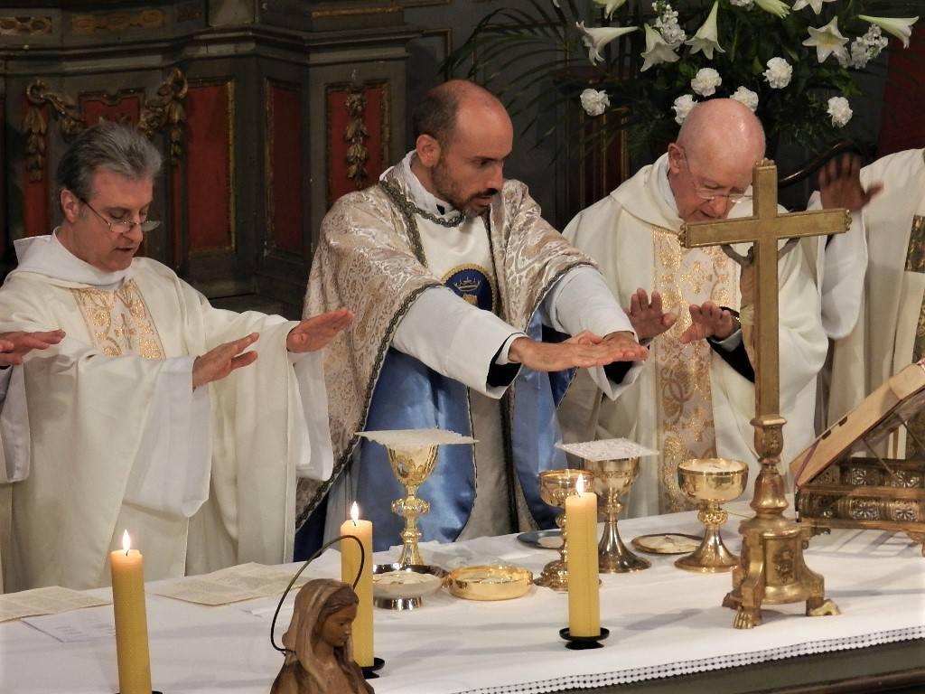 1e Juillet 2018 - Première messe de l'abbé Vincent-Marie Vayne
