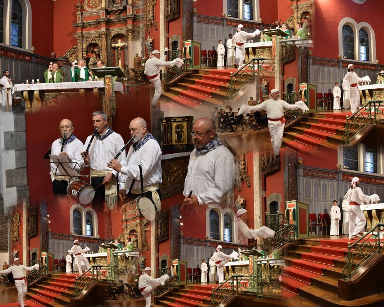 La Messe et la Cavalcade de la Fête Basque Hendayaise