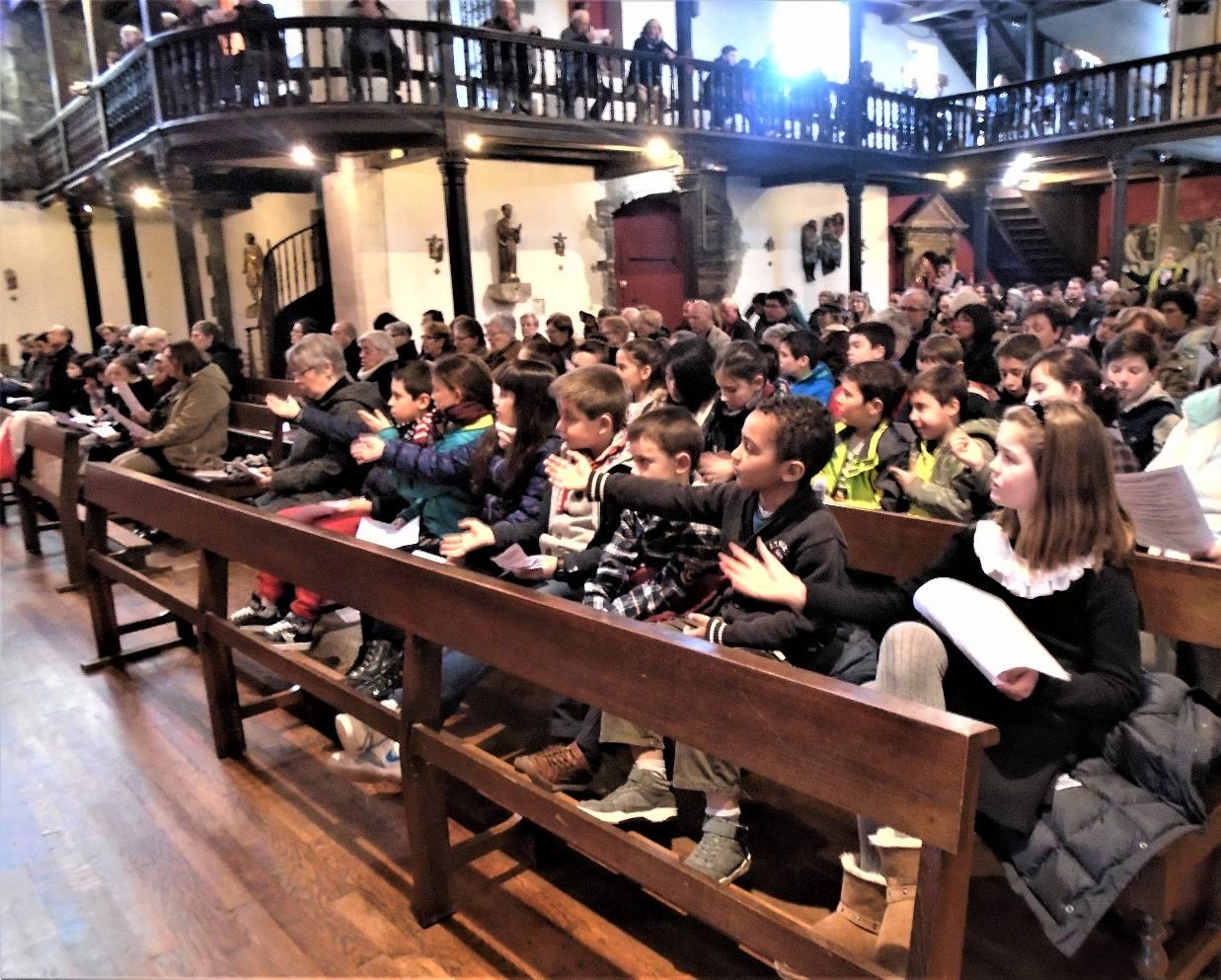 4 Mars - Messe des Familles - Journée des  6e - «Une voix d'ange»