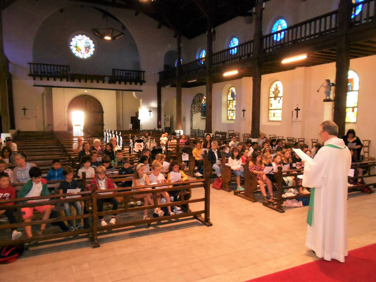 Mercredi 11 septembre - rentrée du catéchisme - église Sainte Anne