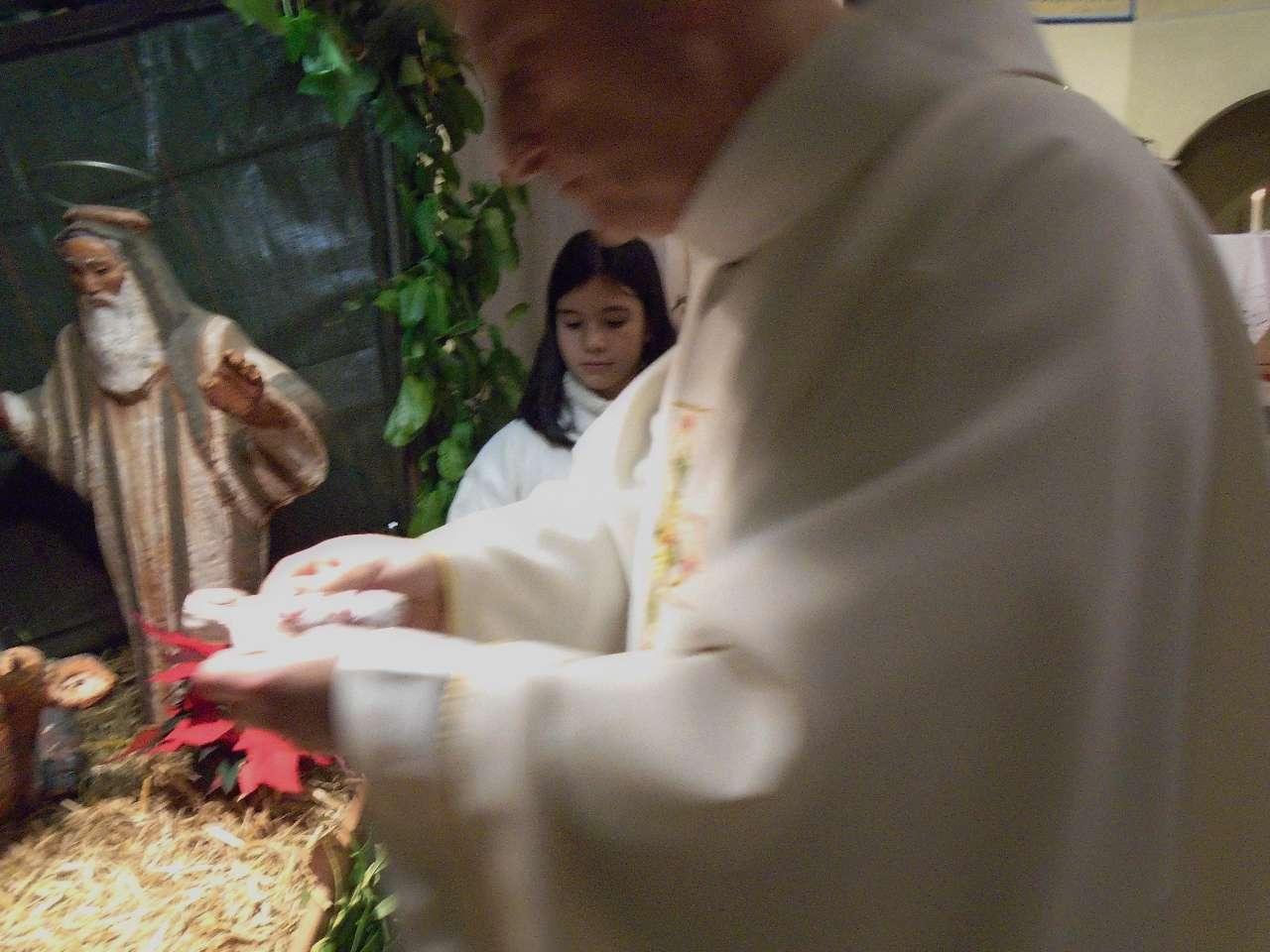 """L'ange dit à Joseph : """"Tu lui donneras le nom de Jésus"""""""