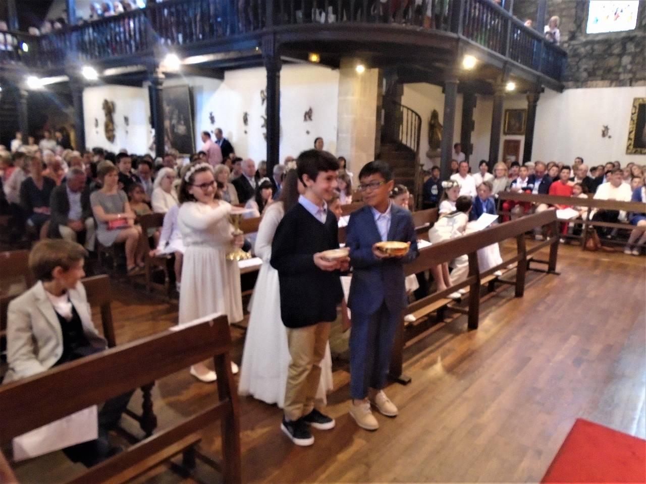 Iban, Hugo et Carla offrent le pain adapté à nos célébrations
