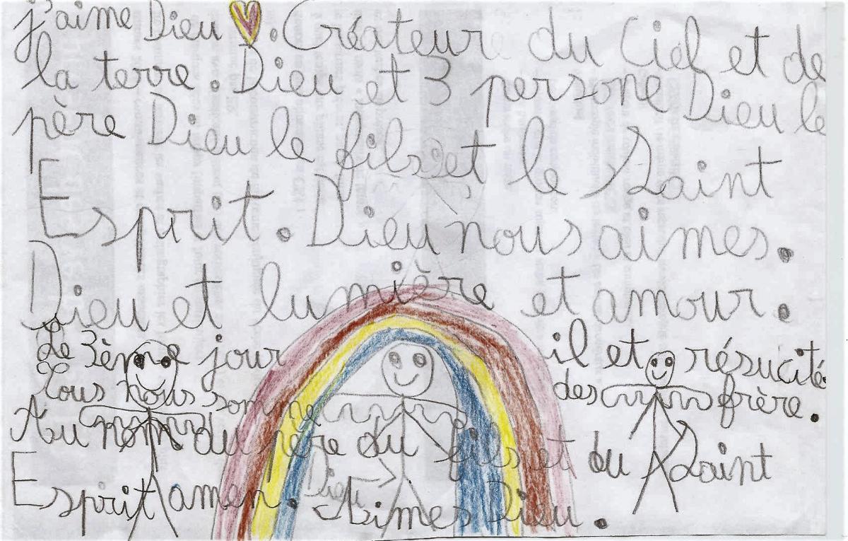 "Nicolas, 8 ans : ""J'aime Dieu"""