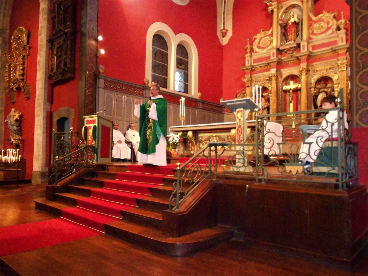 Homélie de l'abbé Jean-Marc Lavigne : tout donner pour suivre jésus