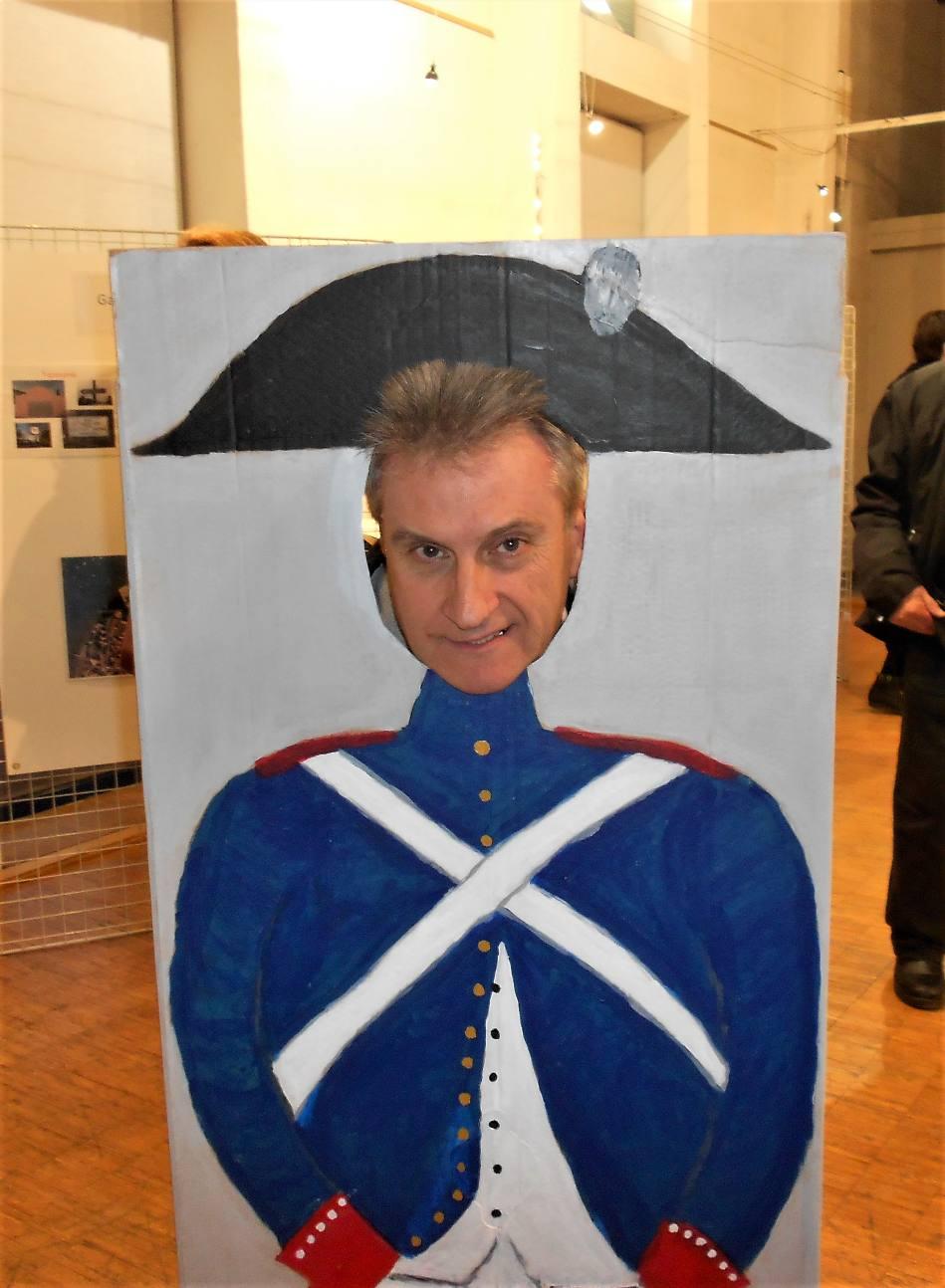 Et même le soldat Jean-Marc mais sans baïonnette !...