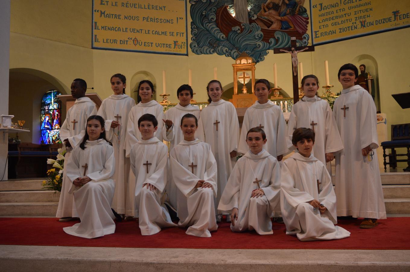 10 juin 18 Célébration de la Profession de Foi – Église sainte Anne