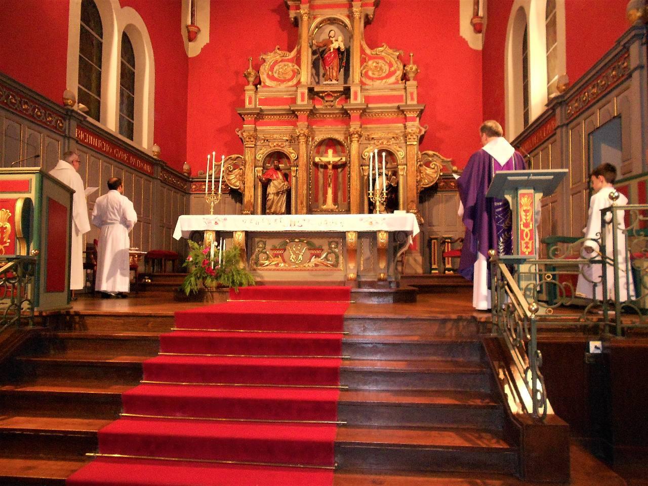 Notre Dame de la Bidassoa - Le 1e dimanche du temps de l'Avent, familial et amical