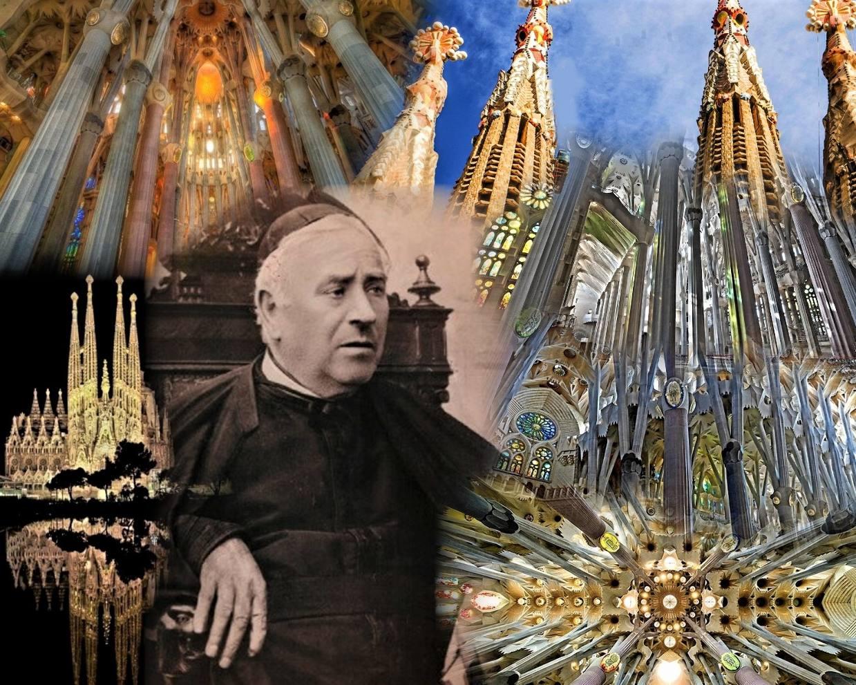 Quel lien entre saint Josep Manyanet i Vives et l'étonnante «Sagrada Familia»de Barcelone?