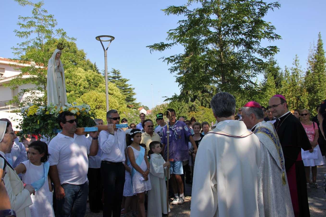 18 juin 2017 - Grande procession mariale pour un double anniversaire