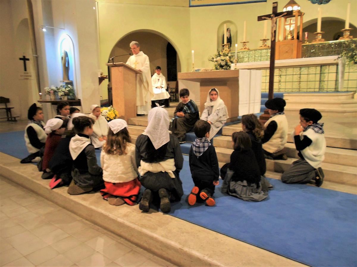 Veillée de Noël des Familles à l'église Sainte Anne