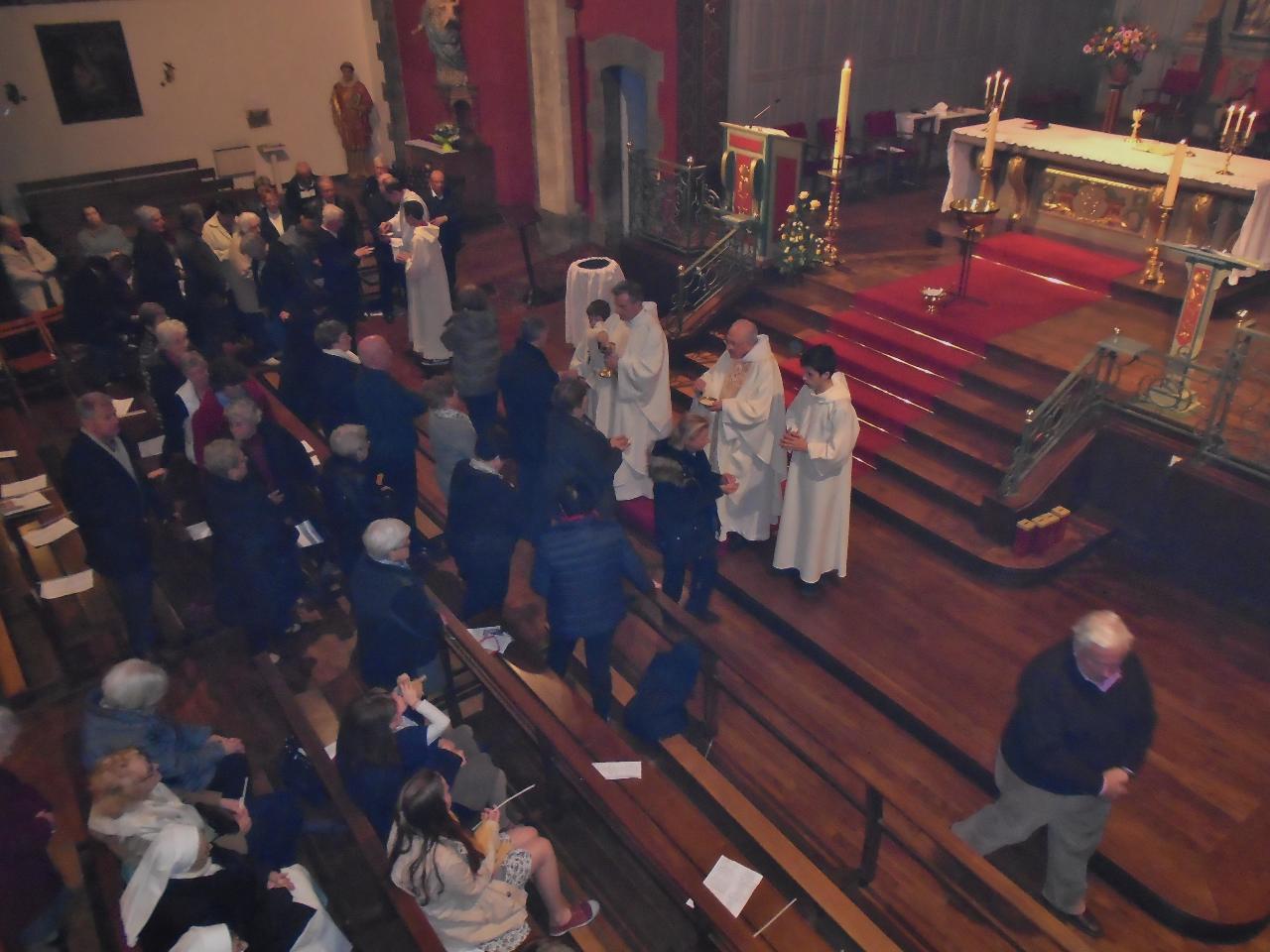 Communion au Christ ressuscité