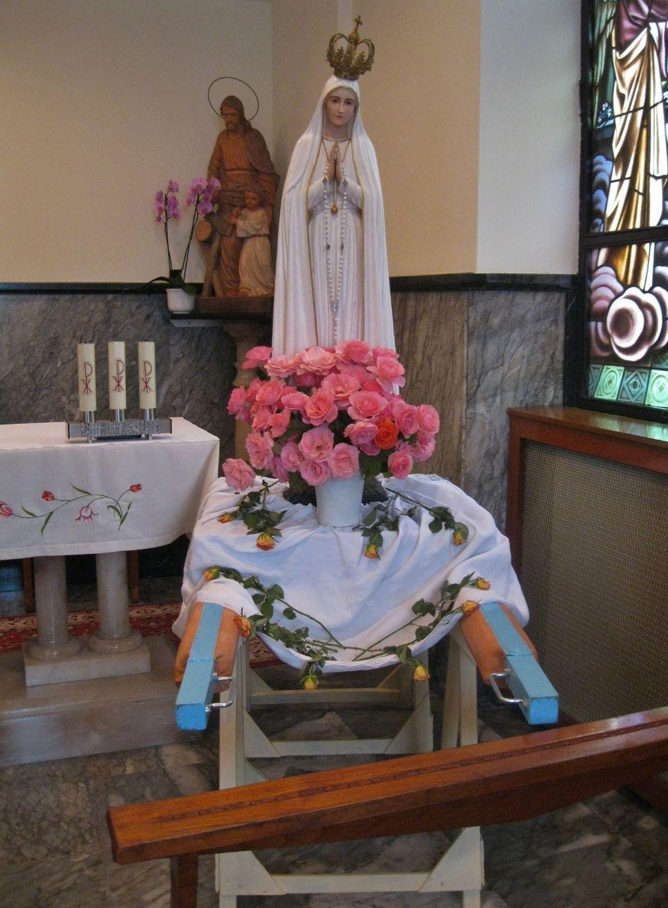 Un fervent au revoir à Notre Dame de Fatima