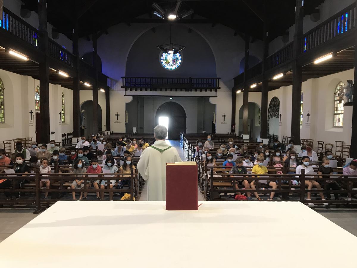 15 septembre 2021 : rentrée du catéchisme - église Sainte Anne