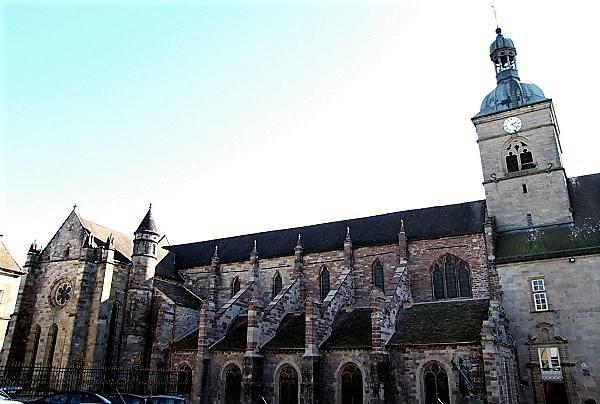 Ancienne abbatiale Saint-Pierre-et-Saint-Paul (abbaye Saint-Colomban)