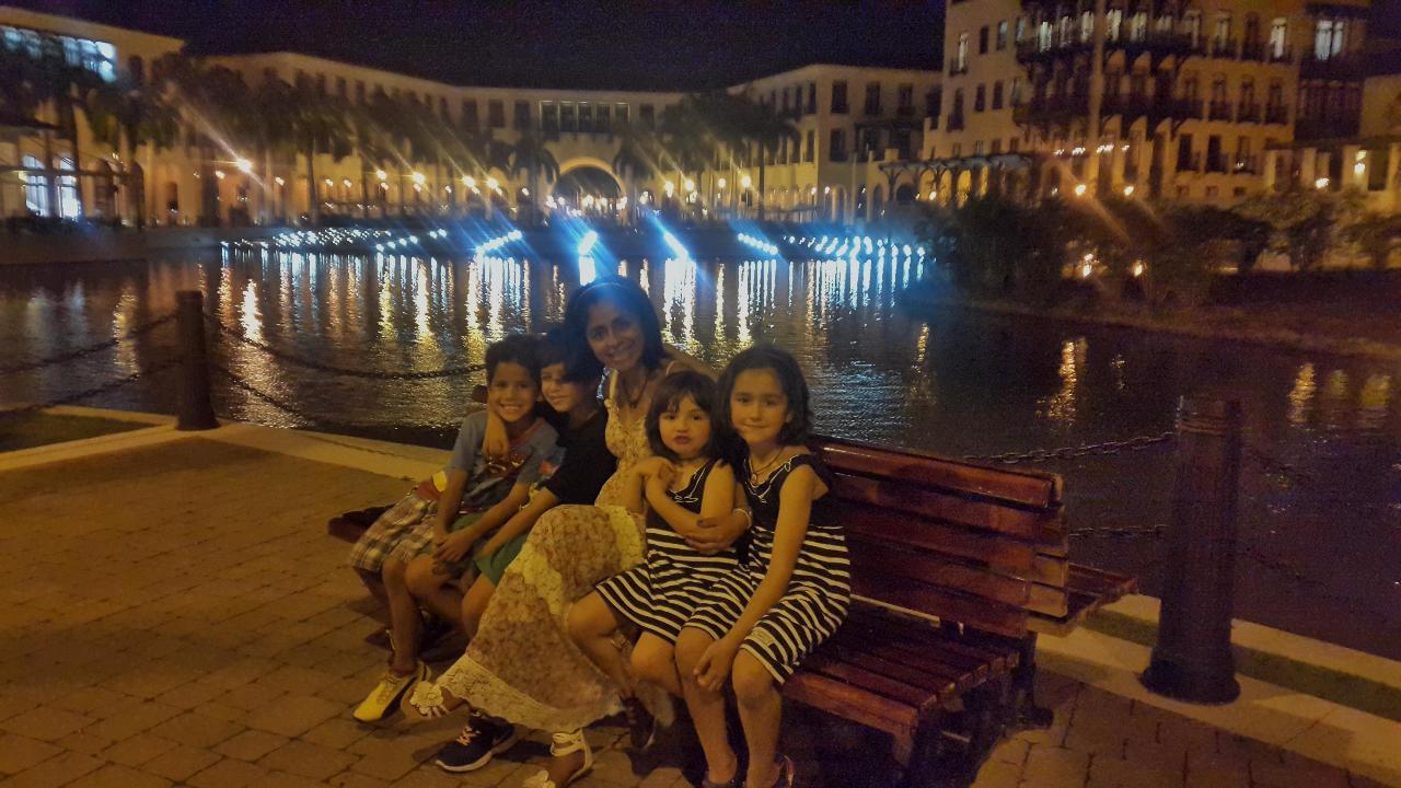 Autre lieu de promenade du soir à Guayaquil, ville moderne et très soignée