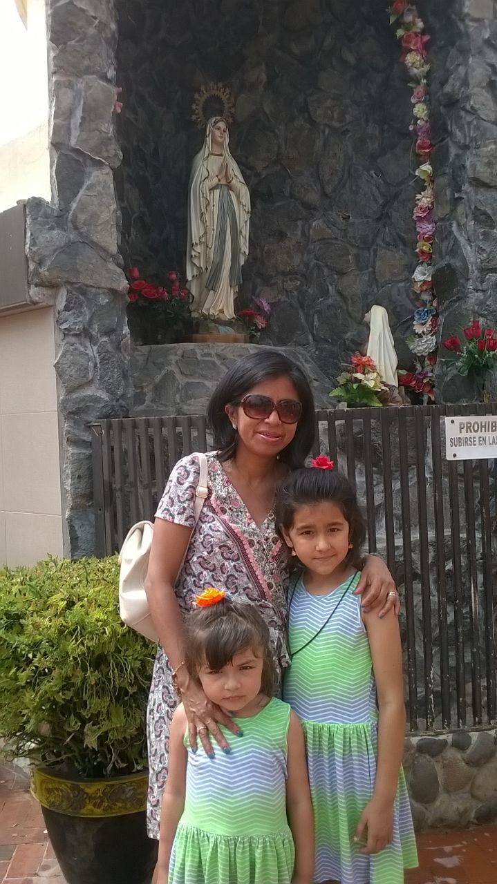 Notre Dame de Lourdes en Equateur