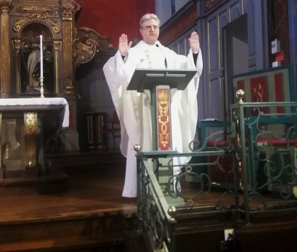 Lundi 25 mai 2020 - Première messe publique à Saint Vincent