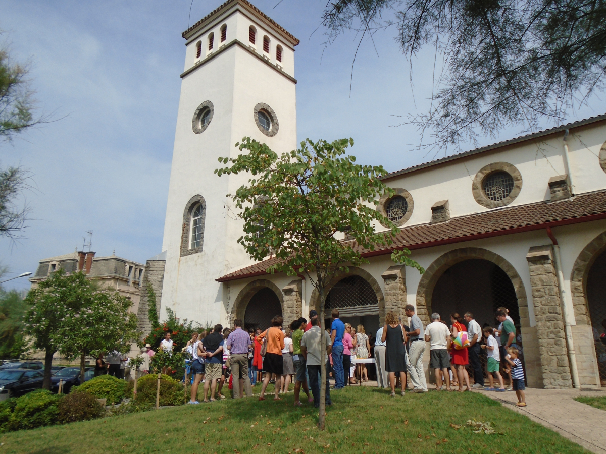 Eglise sainte Anne - Paroisse Notre dame de la Bidassoa - Hendye