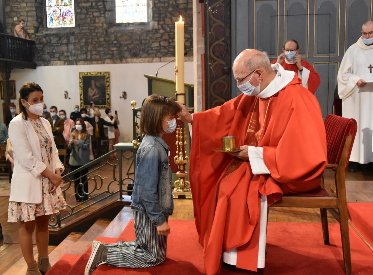 """""""Irene, sois marquée de l'Esprit Saint le don de Dieu"""""""