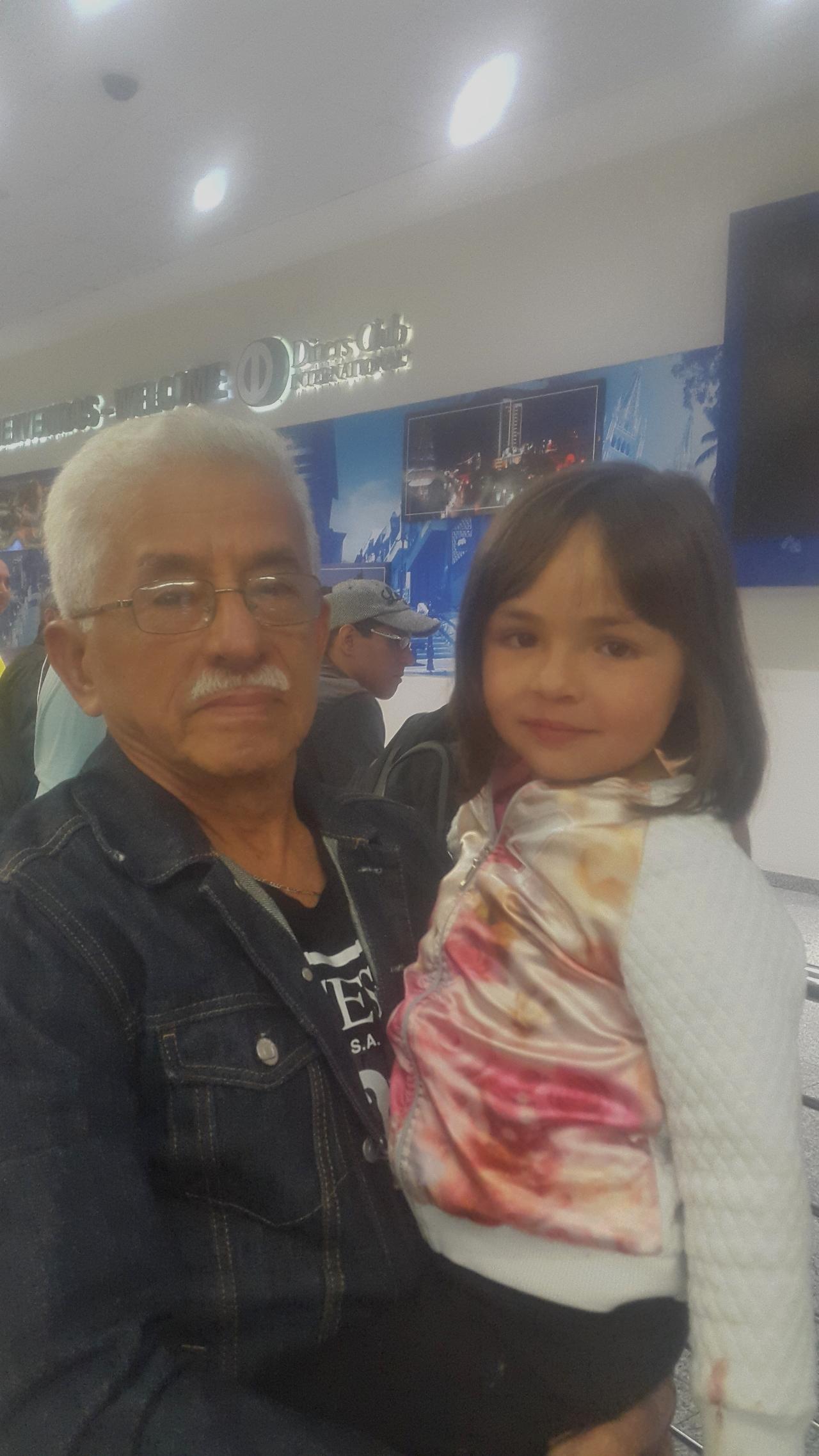 Angela et son grand-père