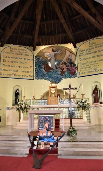 Messe à l'église Sainte Anne
