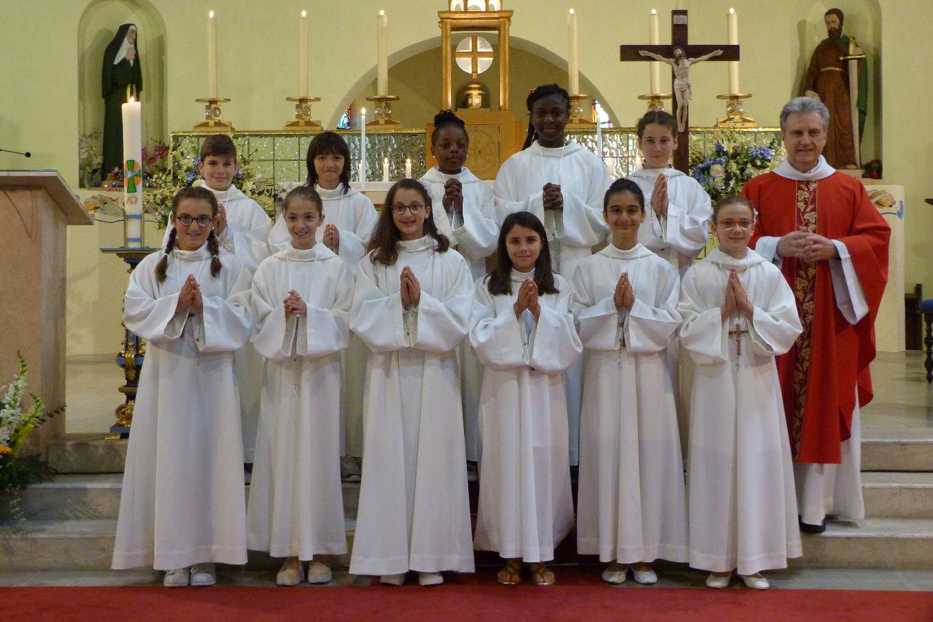 9 juin – église sainte Anne - Fête de Pentecôte et Profession de Foi