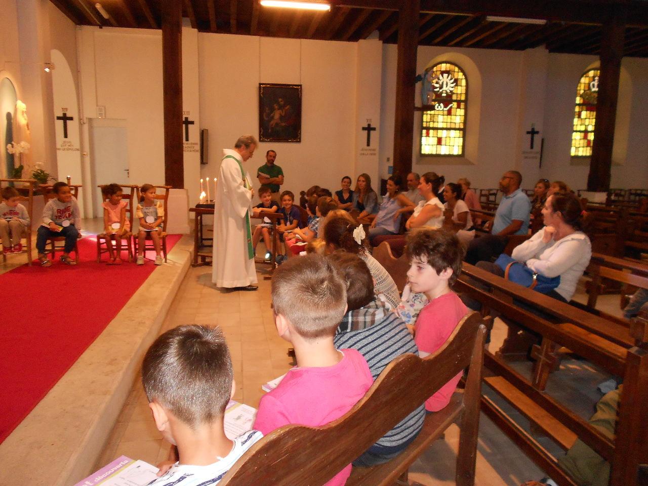 Chaque enfant est appelé à dire son accord pour suivre Jésus