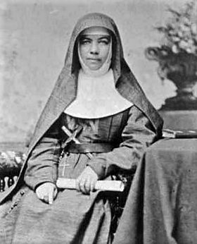 Fêtée le 8 août : Sainte Mary MacKillop, enseignante des pauvres. Première sainte australienne