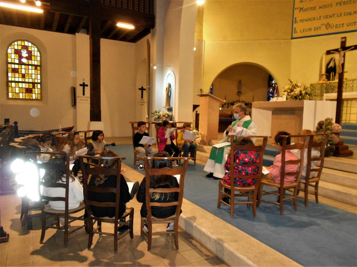 Samedi 10 octobre - la rentrée du catéchisme des enfants de 7 ans