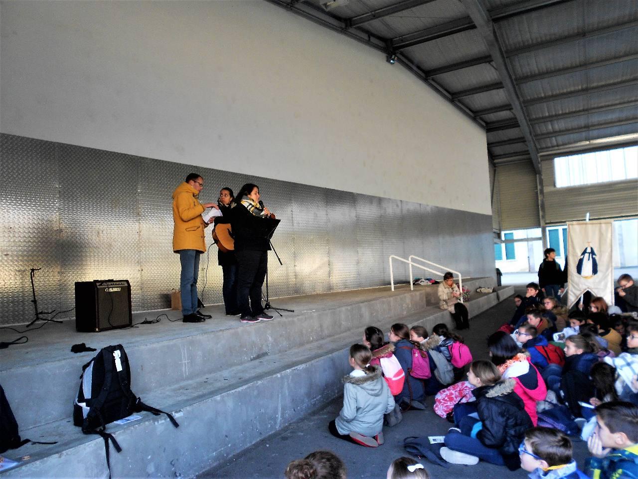 Chants avec Patricia de Palavra Viva