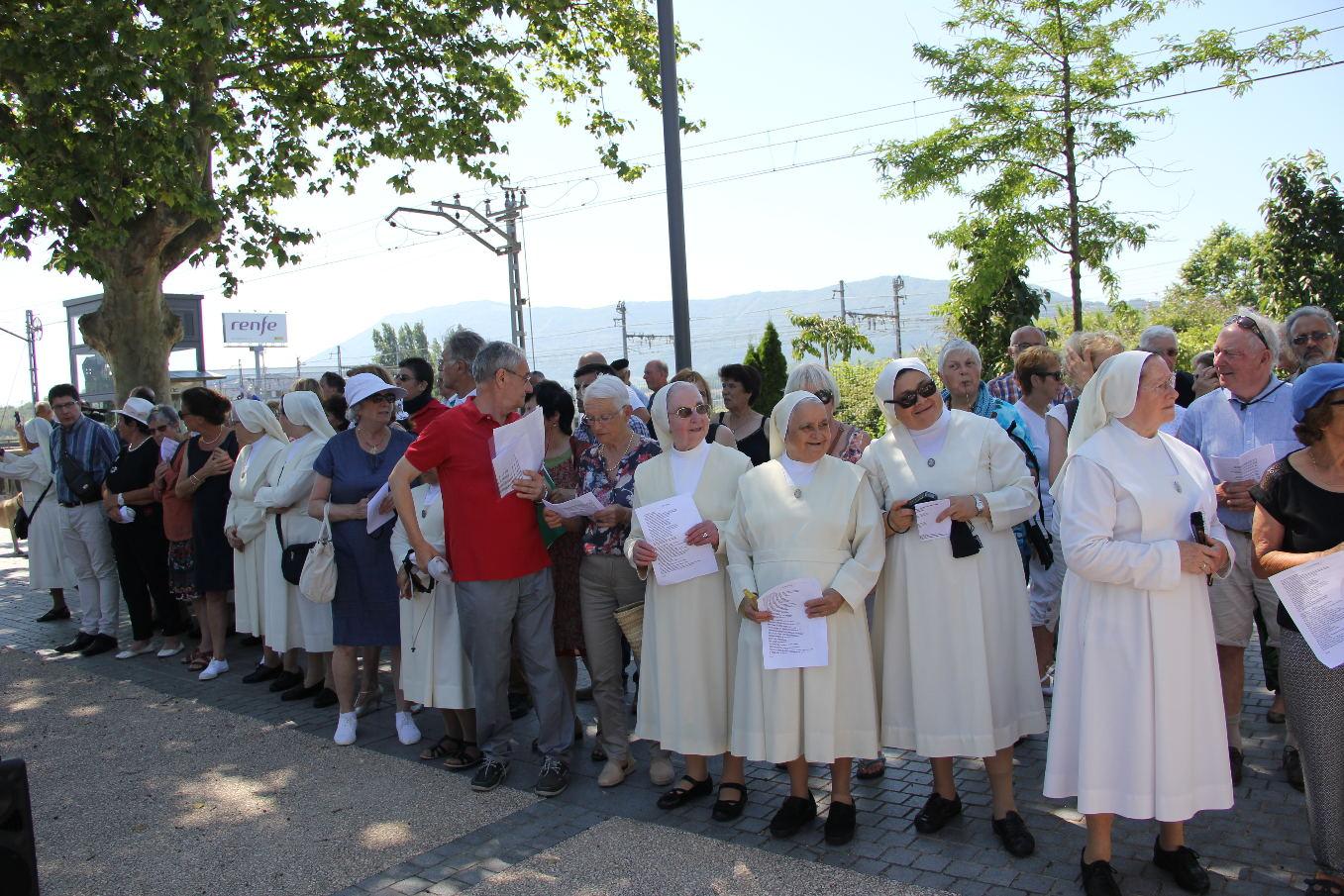 Beaucoup de participants de tout le diocèse et d'Irun