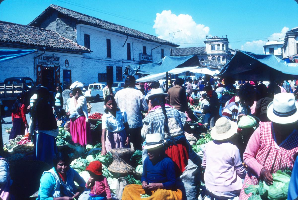 Otavalo, scène de marché.jpg