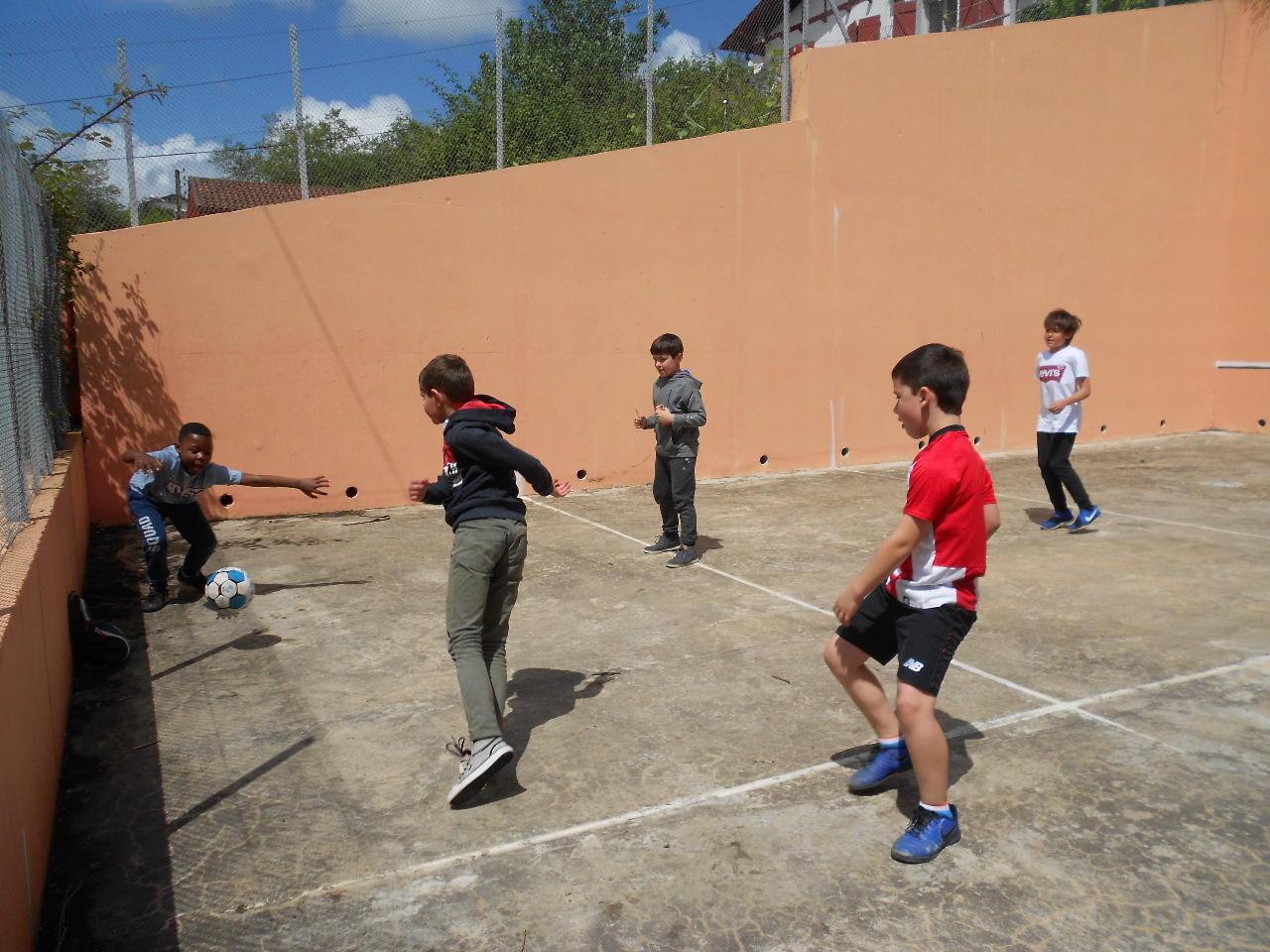 Incontournable foot pour les garçons