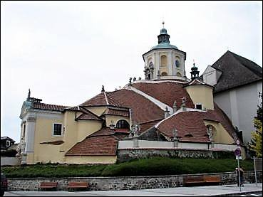 Eglise du Calvaire où se trouve la sépulture de Joseph Haydn