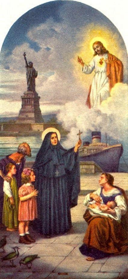 22 décembre, fête de Sainte Françoise Xavière Cabrini - patronne des migrants