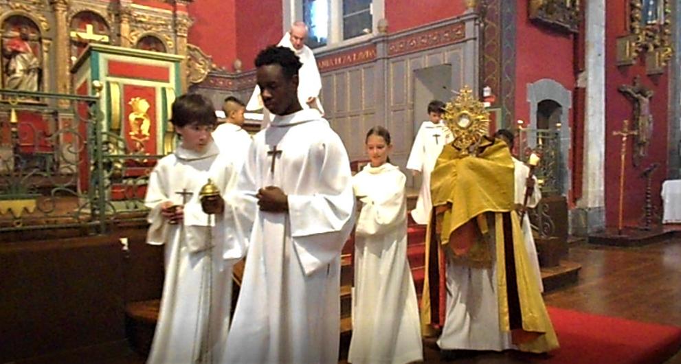 14 juin 2020 - Procession du Saint Sacrement du Corps et du Sang du Seigneur