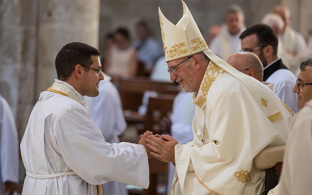 Mgr Jacolin nommé membre de la commission épiscopale pour la vie consacrée