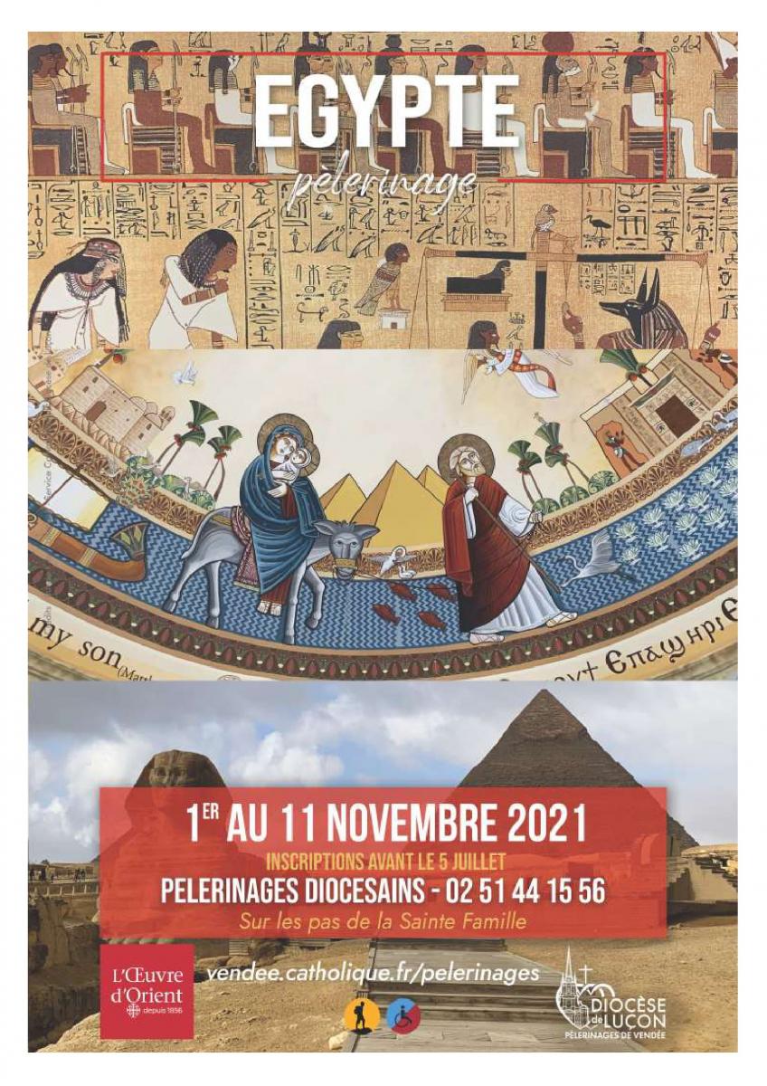 Pèlerinage en Egypte du 1er au 11 novembre