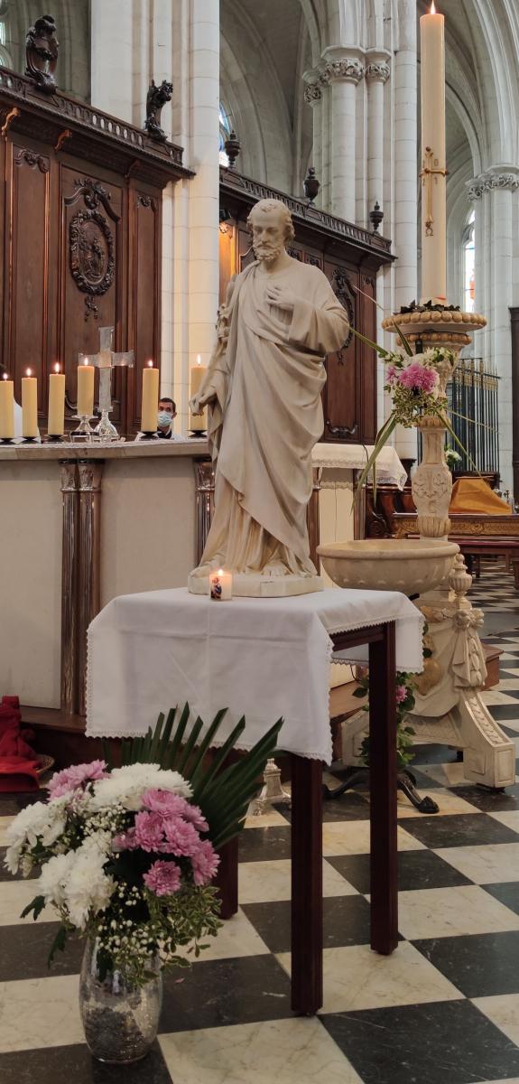 Célébration de la Saint Joseph artisan et pour les vocations à la Cathédrale de Luçon