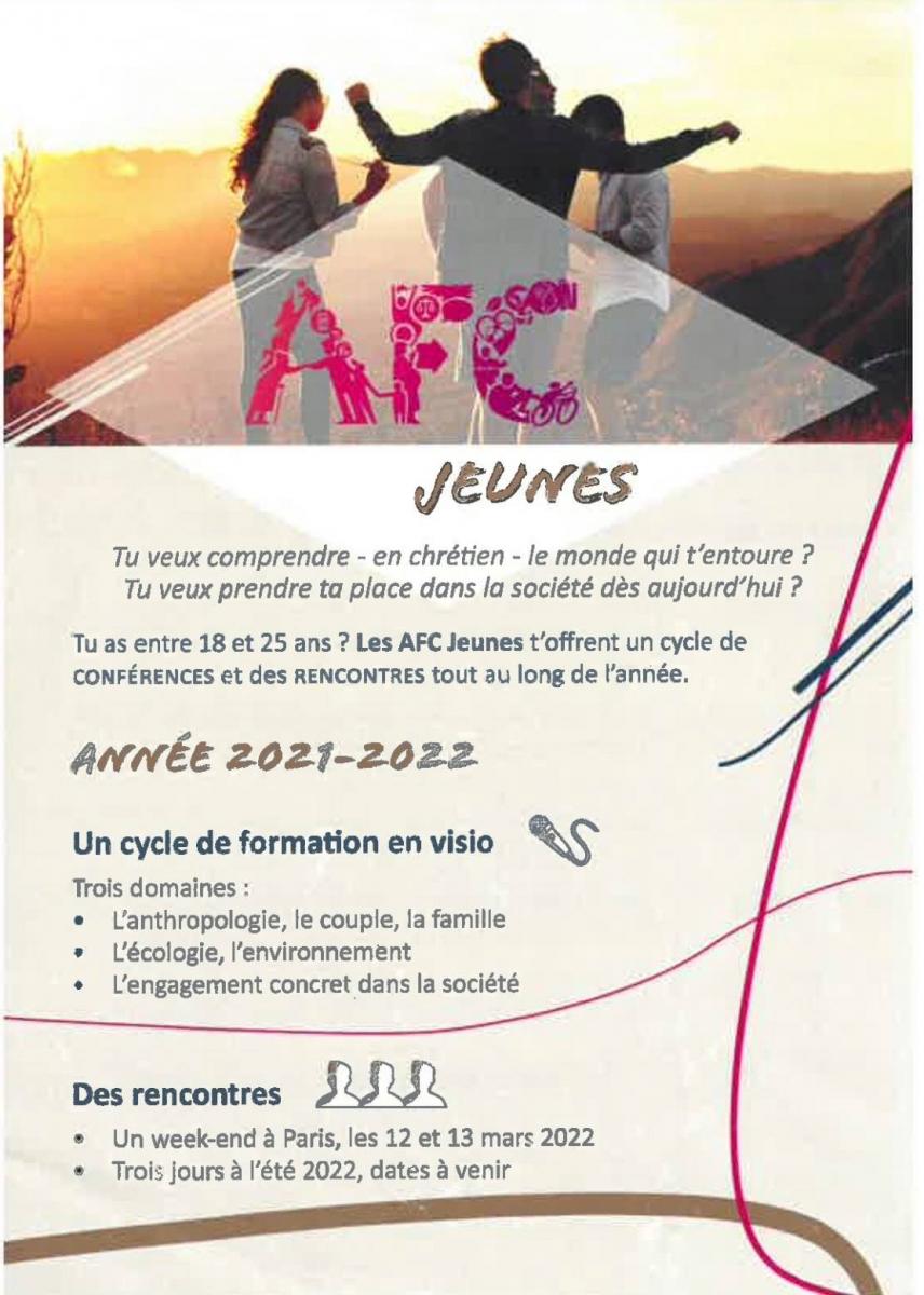 AFC jeunes, Formation et rencontres
